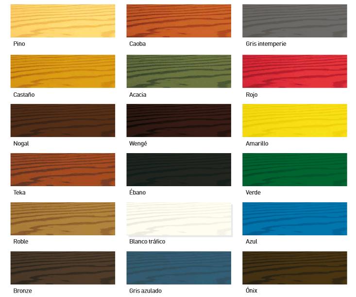 Lasur para la madera dekor lasur cedria lasures for Pintura para madera