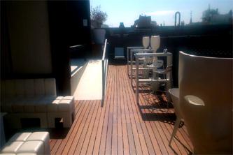 Mantenimiento madera terraza barcelona