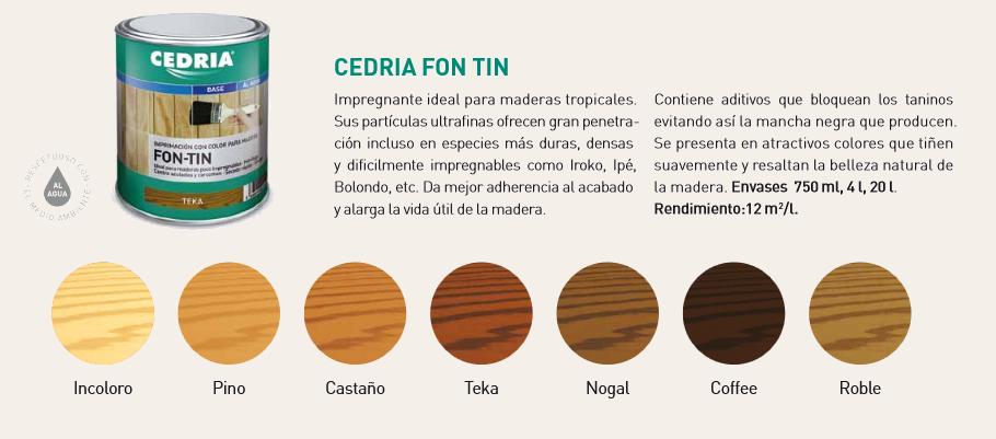 Productos para la madera > Bases para la madera > Fon Tin Cedria