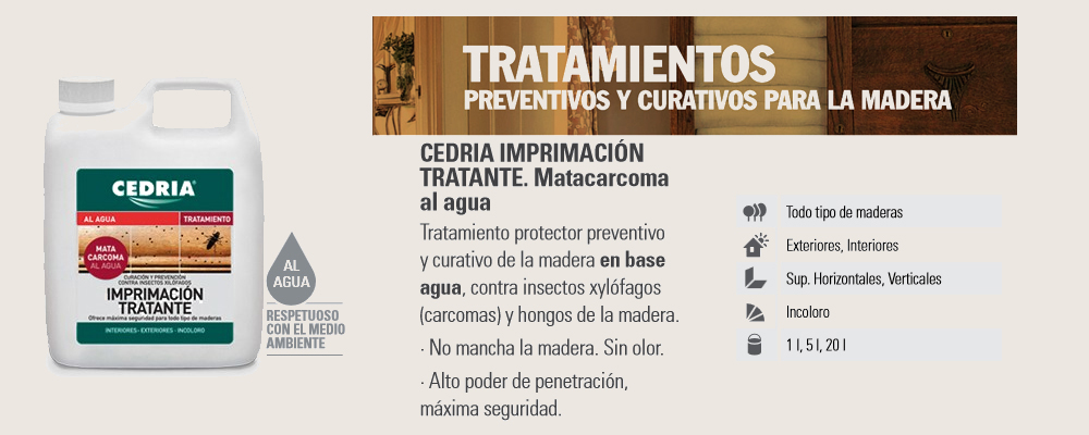 Mantenimiento Madera > Tratamiento madera > Protector madera