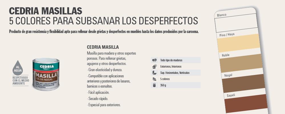 Mantenimiento Madera > Tratamiento madera > Masilla Madera